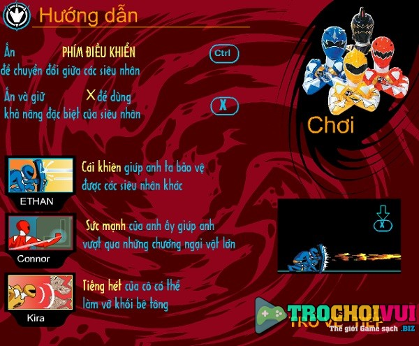 game 5 anh em sieu nhan bi kha bien hoa