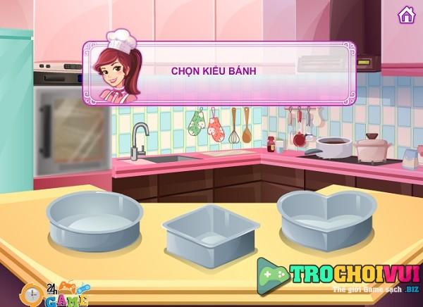 game Banh cuoi tuyet voi 24h