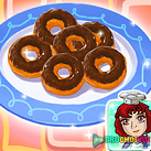 Bánh donut socola