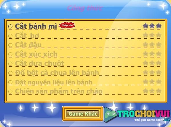 game Banh mi chien bo hinh anh 2