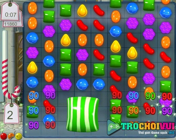 game Candy crush hinh 2