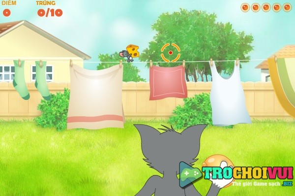 game Cuoc chien Tom va Jerry hinh anh 2
