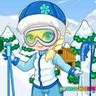 Elsa trượt tuyết