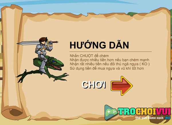 game Hiep si rong online viet hoa