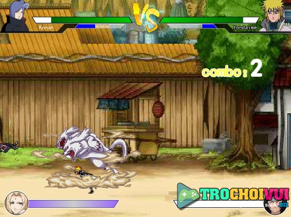 game Naruto dai chien hai tac 1.7 online