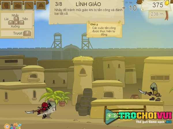 game Ninja dot kich mien phi 24h mini