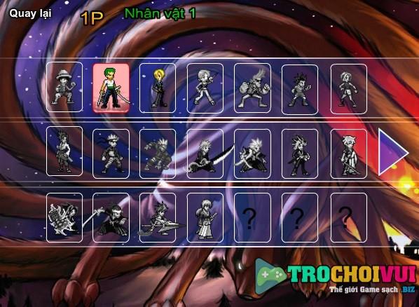 game Sieu hung dai chien 2 nguoi choi online