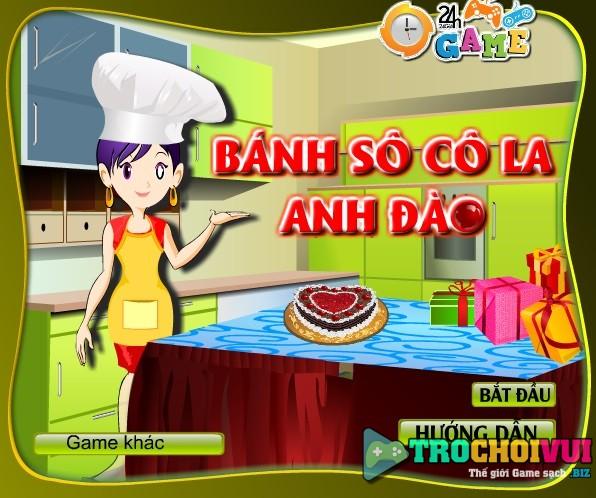 game Banh socola anh dao hinh anh 2