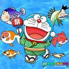 Doremon vớt cá