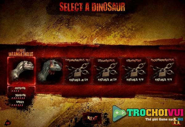 game Jurassic world online