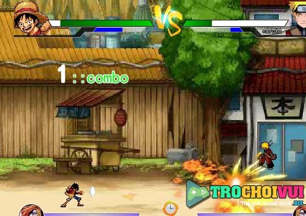 Game One Piece vs Naruto 3 0 vui game