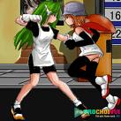 Con gái đánh nhau