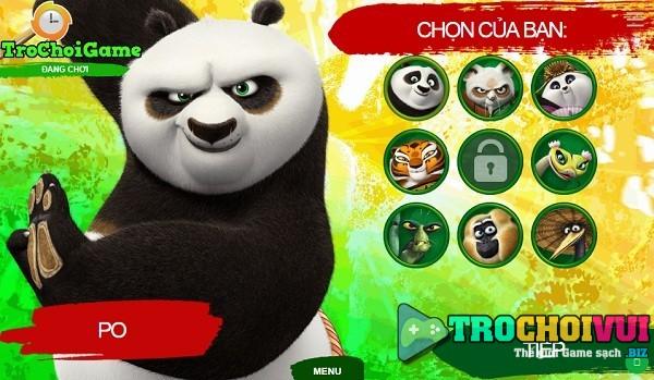 game Kungfu Panda 3 dai chien 2 nguoi choi