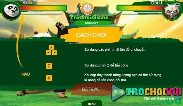 game Kungfu Panda 3 dai chien online offline