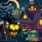 Ngôi nhà ma halloween