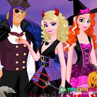 Nữ hoàng băng giá halloween
