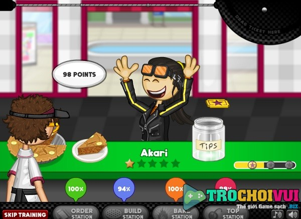game Papa's Bakeria online