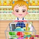 Em bé đi chợ