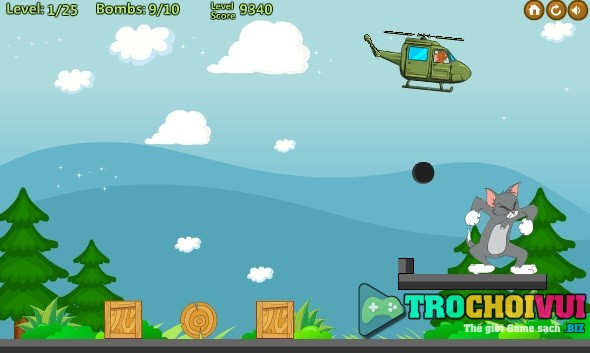 game Jerry tha bom hinh anh