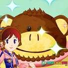Làm bánh con khỉ