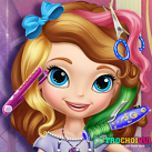 Làm tóc cho Sofia