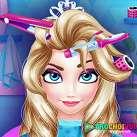 Làm tóc cho Elsa