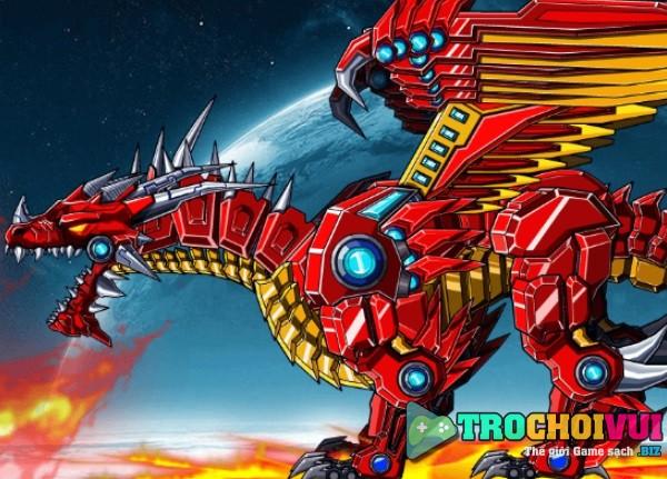 Game Lap rap robot rong lua hinh anh