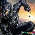 Người nhện đen đu dây