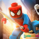 Người nhện Lego đu dây
