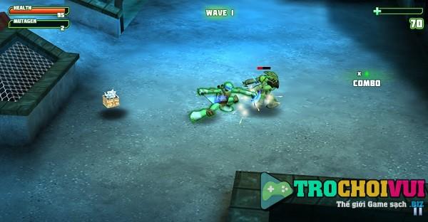 game Ninja rua danh nhau 3D hinh anh