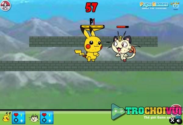 game Pokemon danh nhau hinh anh