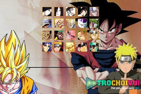 game Anime legends 2.5 goku