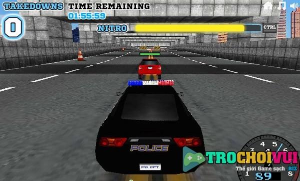 game Dua xe canh sat 3D hinh anh