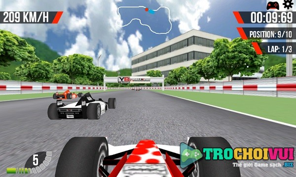 game Dua xe cong thuc 1 3D hinh anh