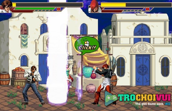 game KOF vs DNF hinh anh