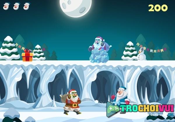 game Santa vs Zombie hinh anh