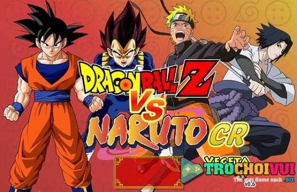 game DBZ vs Naruto hinh anh 1
