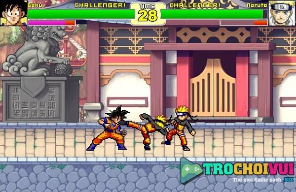 game DBZ vs Naruto hinh anh 3