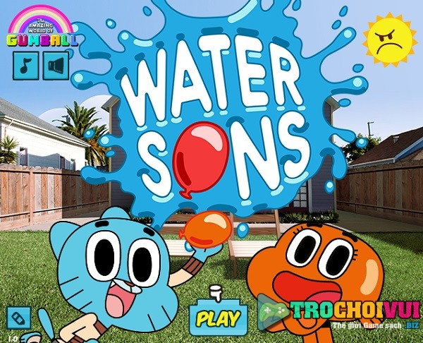 game Gumball ban sung nuoc hinh anh 1