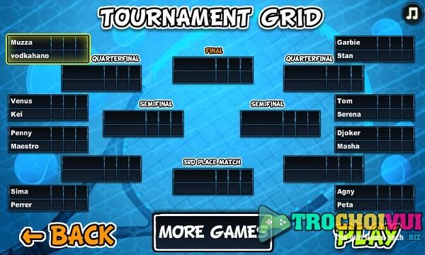 game Huyen thoai Tennis 2 nguoi