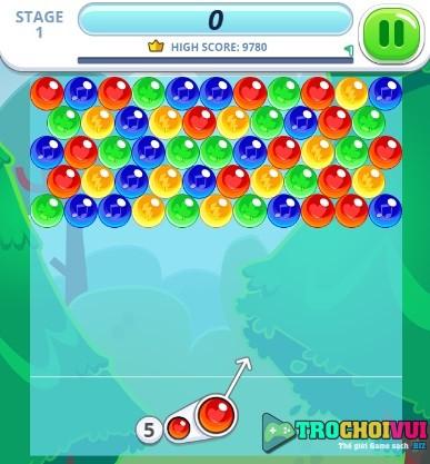 game Ban bong mau nuoc