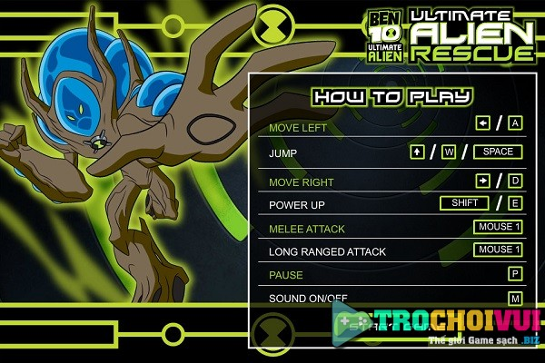 game Ben 10 Ultimate Alien