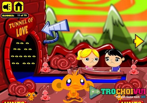 game Chu khi buon Valentine huong dan