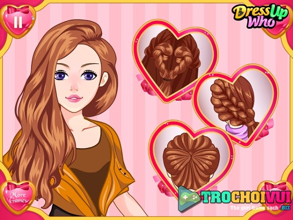 game Lam toc ngay Valentine