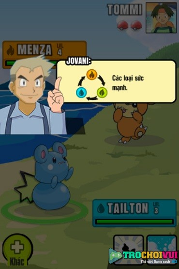 game Pokemon dai chien 2 game 24h