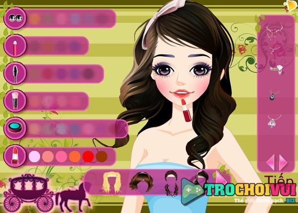 game Thoi trang cong chua lo lem hinh anh 1