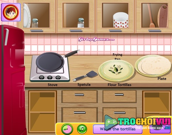game Cach lam banh Burrito