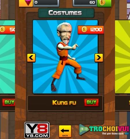 game Chay di ong noi grandpa run 3d webgl