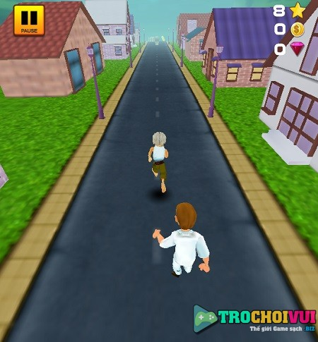 game Chay di ong noi grandpa run