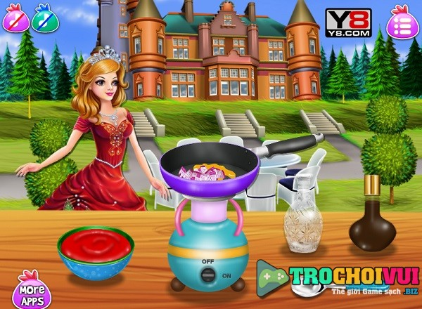 game Cong chua cham chi hinh anh 3